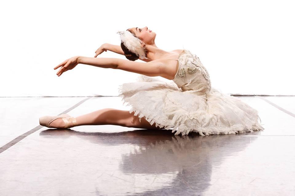 Ballerina-in-white